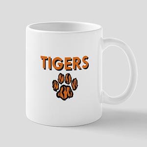 TIGERS AND PAW Mugs