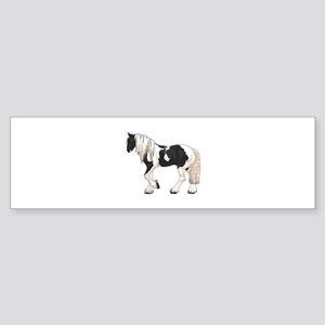 LARGER GYPSY VANNER Bumper Sticker