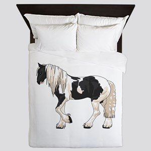 LARGER GYPSY VANNER Queen Duvet