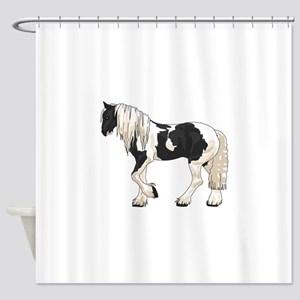 LARGER GYPSY VANNER Shower Curtain