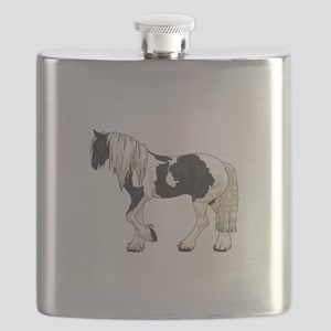 LARGER GYPSY VANNER Flask