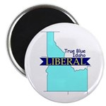 "2.25"" Magnet (10 pack) True Blue Idaho LIBERAL"