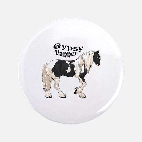 """GYPSY VANNER 3.5"""" Button"""