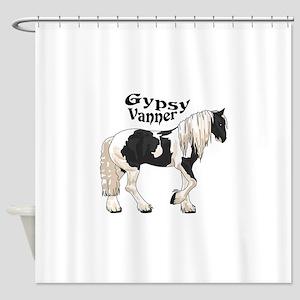 GYPSY VANNER Shower Curtain