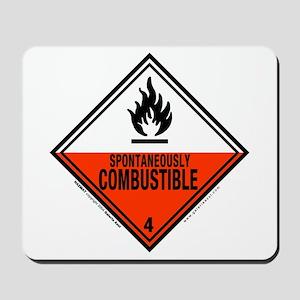 Combustible Symbol: Mousepad