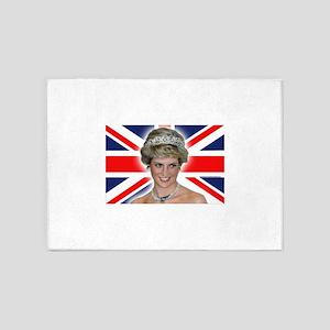 Stunning! HRH Princess Diana Pro Ph 5'x7'Area Rug
