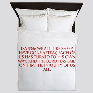 Isa 53 6 We all like sheep have gone astray each o