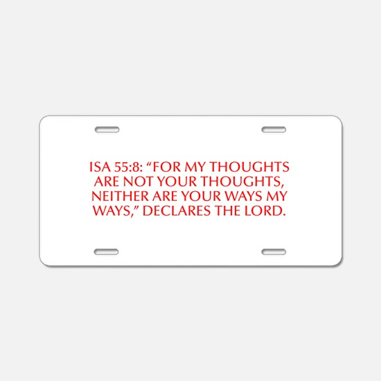 Isa 55 8 For my thoughts are not your thoughts nei