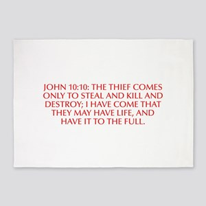 John 10 10 The thief comes only to steal and kill