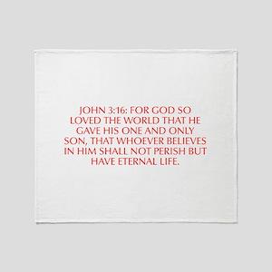 John 3 16 For God so loved the world that he gave