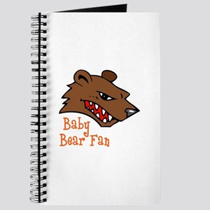 Baby Bear Fan Journal