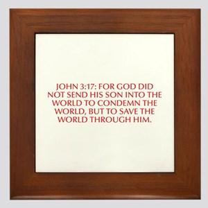 John 3 17 For God did not send his Son into the wo