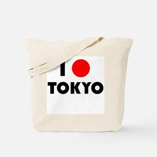 I Heart [Love] Tokyo Tote Bag