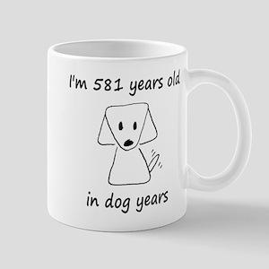 83 dog years 6 Mugs