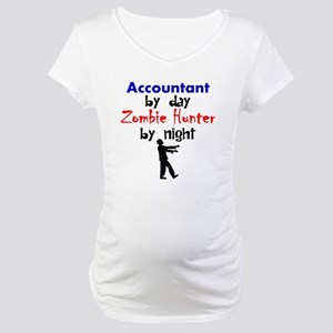 Accountant By Day Zombie Hunter By Night Maternity