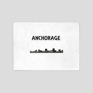 Anchorage Skyline 5'x7'Area Rug