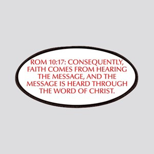 Rom 10 17 Consequently faith comes from hearing th