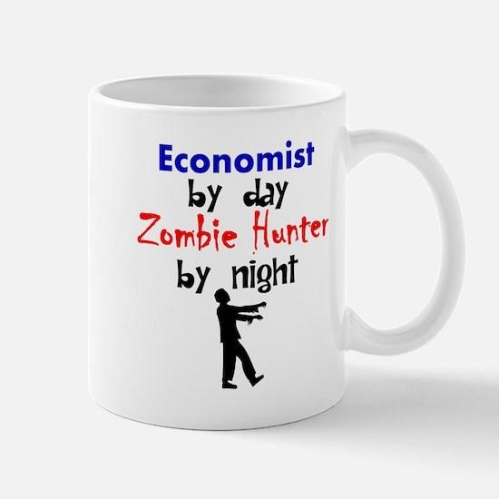 Economist By Day Zombie Hunter By Night Mugs