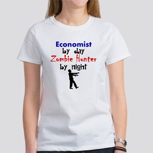 Economist By Day Zombie Hunter By Night T-Shirt