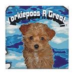 Yorkiepoos R Hot Tile Coaster!
