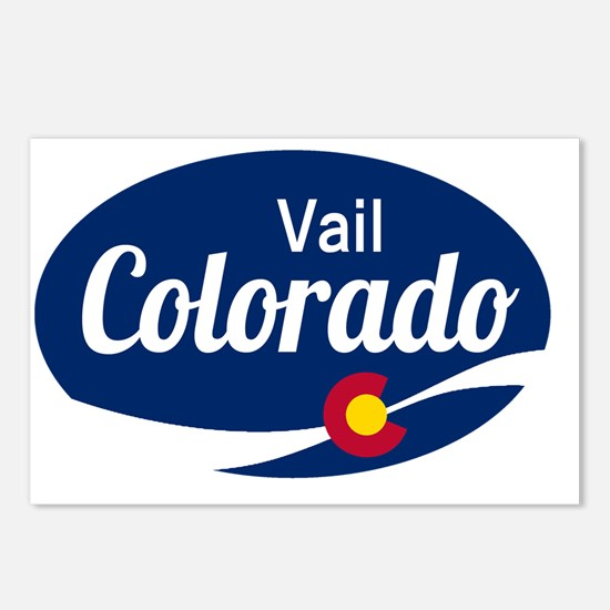 Epic Vail Ski Resort Colo Postcards (Package of 8)
