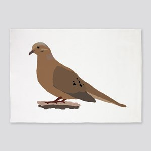 Mourning Dove 5'x7'Area Rug