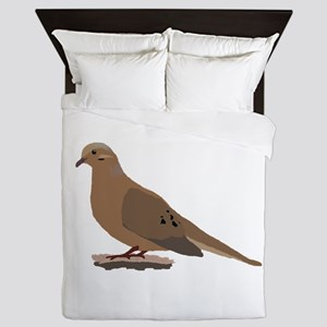 Mourning Dove Queen Duvet