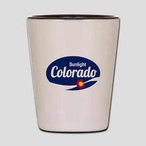 Epic Sunlight Ski Resort Colorado Shot Glass