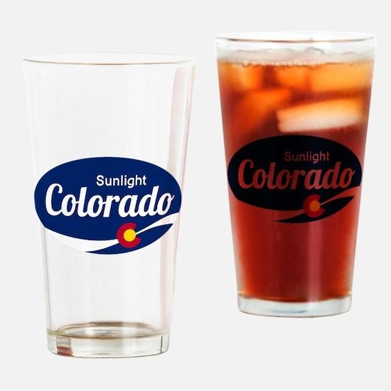 Epic Sunlight Ski Resort Colorado Drinking Glass