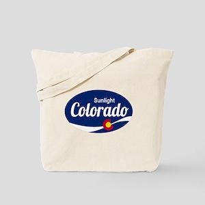 Epic Sunlight Ski Resort Colorado Tote Bag