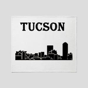 Tucson Skyline Throw Blanket