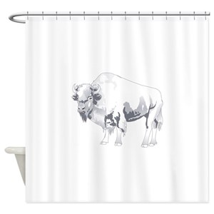 Buffalo Shower Curtains