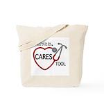 Cares Tool Logo Tote Bag