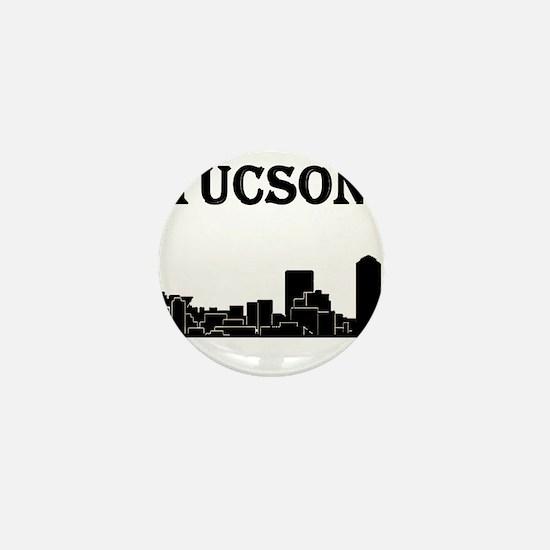 Tucson Skyline Mini Button