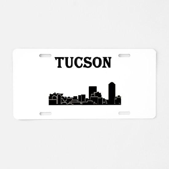 Tucson Skyline Aluminum License Plate