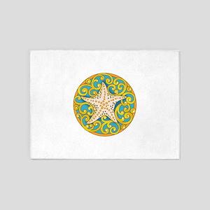 Starfish Beauty 5'x7'Area Rug