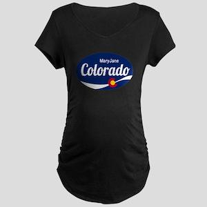 Epic Mary Jane Ski Resort Colora Maternity T-Shirt
