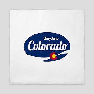 Epic Mary Jane Ski Resort Colorado Queen Duvet