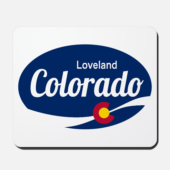 Epic Loveland Ski Resort Colorado Mousepad