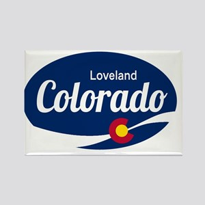 Epic Loveland Ski Resort Colorado Magnets