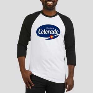 Epic Keystone Ski Resort Colorado Baseball Jersey