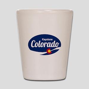 Epic Keystone Ski Resort Colorado Shot Glass