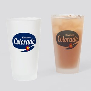 Epic Keystone Ski Resort Colorado Drinking Glass