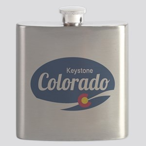 Epic Keystone Ski Resort Colorado Flask