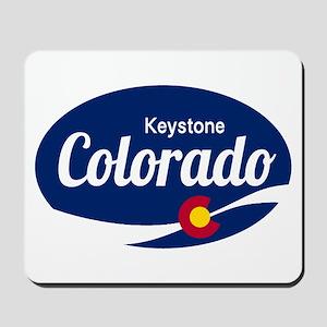 Epic Keystone Ski Resort Colorado Mousepad