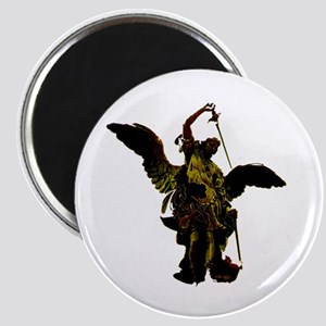 Powerful Angel - Gold Magnet