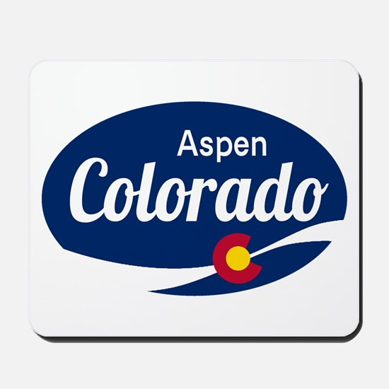 Epic Aspen Ski Resort Colorado Mousepad