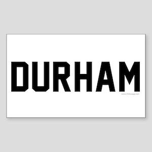 Durham North Carolina Sticker
