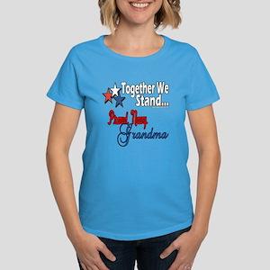 Navy Grandma Women's Dark T-Shirt