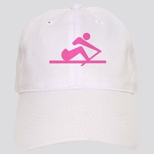 Pink Crew Baseball Cap